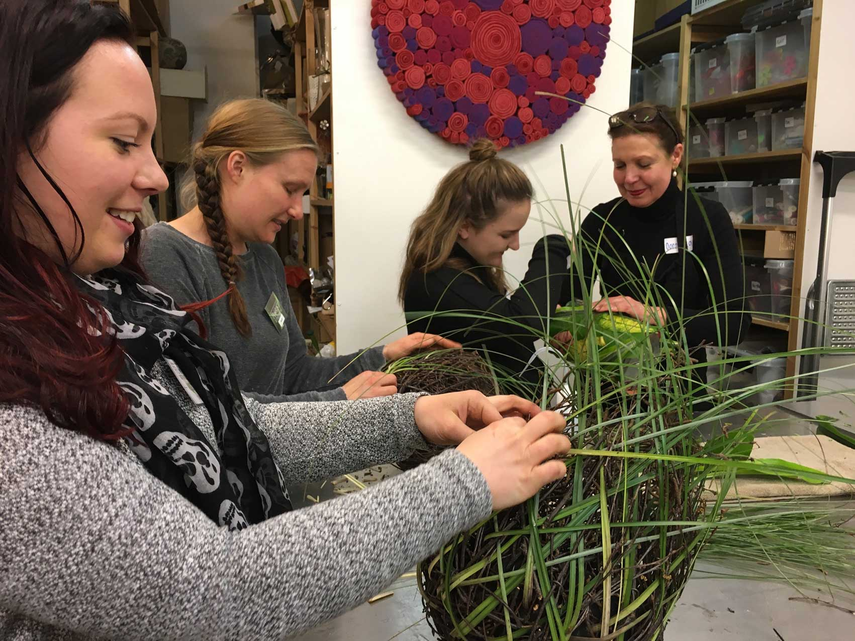 Assistenter till Floristiskcoaching 3 – 4 April