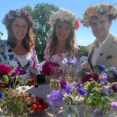 Floristutbildarna inspirerar på SVT